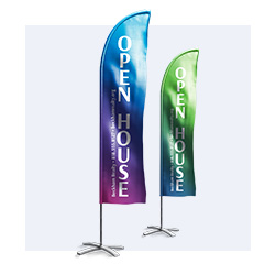 Tradeshow flags